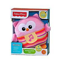 Мягкий музыкальный ночник Fisher-Price Сова (CDN88)