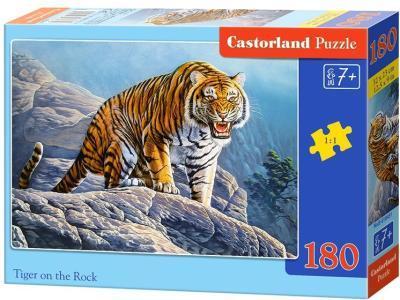 Развивающая игрушка Castorland Тигр на скале B1-018451 180 деталей
