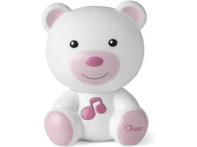 Развивающая игрушка Chicco Dreamlight Ночник Медвежонок розовый  1117293
