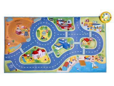 Развивающая игрушка Chicco Игровой коврик Город