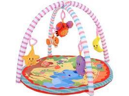 Игровой коврик Crawls Cushion Слоник и друзья 5 игрушек
