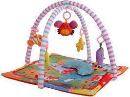Игровой коврик Crawls Cushion Слоник и друзья с подушечкой