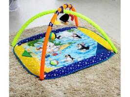 Игровой коврик Дельфин Арктика 100x87 см