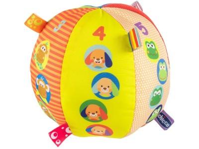 Развивающая игрушка Chicco Музыкальный мячик 00010058000000