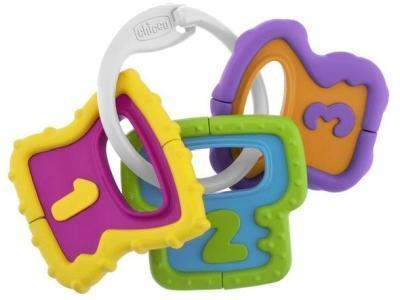 Развивающая игрушка Chicco Погремушка Easy Grasp Ключи 3м+