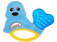 Развивающая игрушка Chicco Погремушка-прорезыватель Тюлень