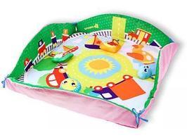 Игровой коврик Крошка Я Транспорт 85x85 см