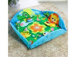 Игровой коврик Крошка Я Зверята 85x85 см