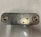 Радиатор масляный/ теплообменник/ маслоохладитель, 10 ребер на MAN, МАН, BZT 51056010161-Y, фото 2