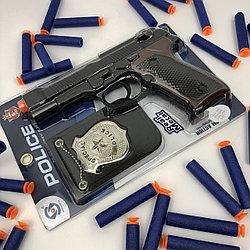 №14530 пистолет со значком