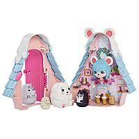 """Enchantimals Игровой мини-набор """"Лыжный домик Полярного мишки Паубри"""""""