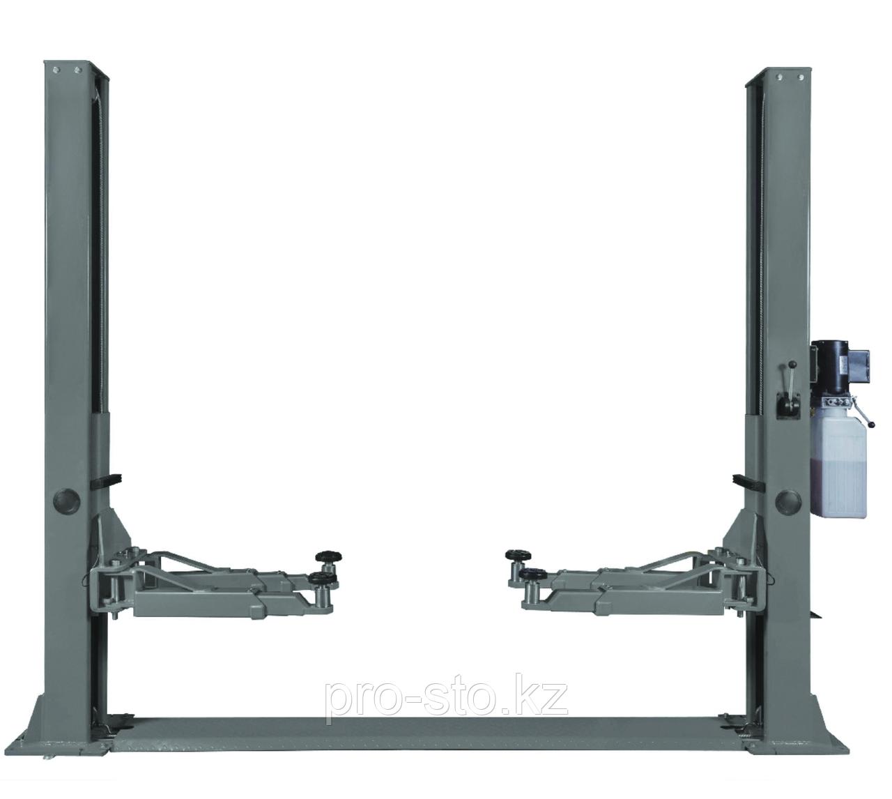 Подъемник двухстоечный г/п 4000 кг. электрогидравлический KraftWell