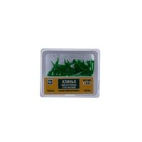 Клинья 1.841 фиксирующие пластик. тонкие (зеленые) №40