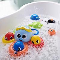 Игрушка для ванны Осьминог Billy 6м+ (Chicco, Италия)
