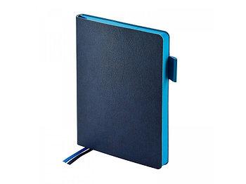 Ежедневник недатированный А5 Boston, темно-синий