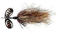 Блесна Savage Gear DP Spinner (42145=37g №6 Gold Black Flame)