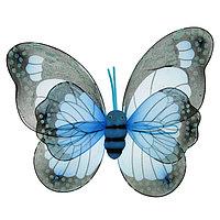 Карнавальные крылья 'Бабочка', для детей, цвет голубой