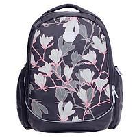Рюкзак школьный, Grizzly RG-967, 39x30x20 см, эргономичная спинка, «Артишок»