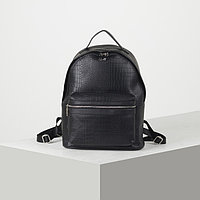 Рюкзак молодёжный, цвет чёрный