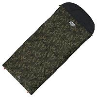 Спальник 4- слойный, L одеяло+подголовник 225 x 100 см, camping comfort cold, таффета/оксфорд, -15°C