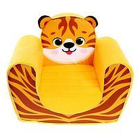 Мягкая игрушка 'Кресло тигрёнок'
