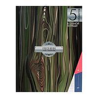 Колледж-тетрадь А5, 128 листов в клетку 'Экостиль', интегральная обложка, выборочный УФ-лак, блок офсет