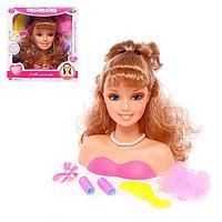 Кукла-манекен для создания причёсок 'Кокетка' с аксессуарами