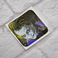 Наклейка объемная для телефона Джокер персонаж Джокер Улыбка
