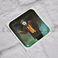 Наклейка объемная для телефона Джокер персонаж Джокер в костюме