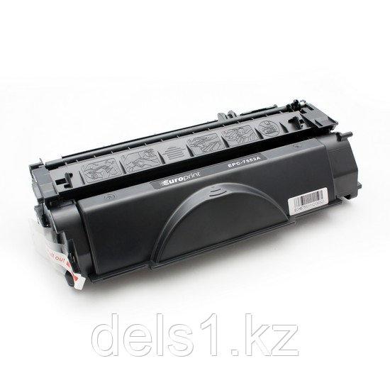Картридж, Europrint, EPC-7553A, Для принтеров HP LaserJet P2014/P2015/M2727, 3000 страниц.