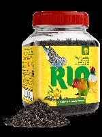 RIO Абиссинский нуг. Лакомство для всех видов птиц, банка 250г