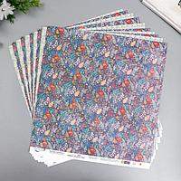 Бумага для скрапбукинга 'Осенний этюд' 190 г/кв.м 30.5 x 30.5 см 2 (комплект из 10 шт.)