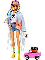 Barbie: Кукла Барби Extra с радужными косами
