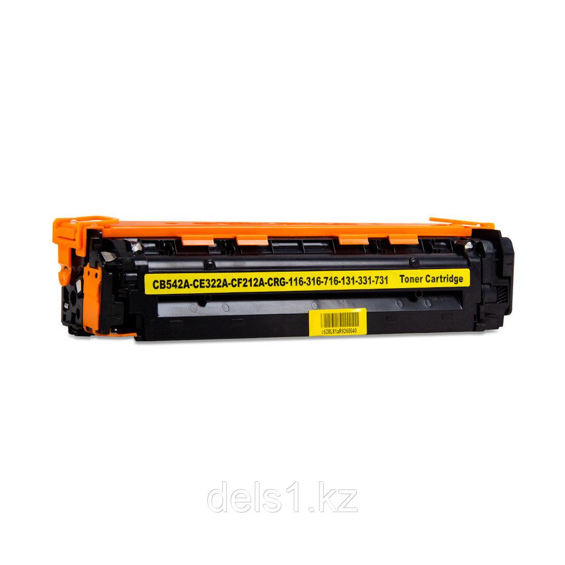 Картридж Colorfix CB542A/CE322A/CF212A,  Жёлтый, Для принтеров HP CLJ CP1215/CP1515/CM1300