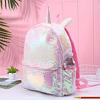 Рюкзак для школьников Единорог Unicorn pink