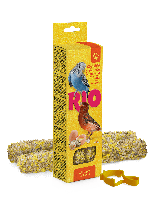 RIO Палочки для всех видов птиц с яйцом и ракушечником, коробка 2х40г