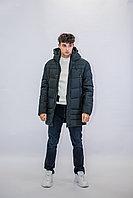 Зимняя мужская длинная куртка Kings Wind хаки