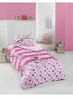 Комплект постельного белья Полутораспальный ALTINBASAK - Alina розовый