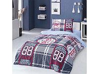 Комплект постельного белья Односпальный ALTINBASAK - Avita синий