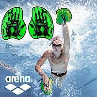 Лопатки гребные для плавания лопасти пластиковые Аrena 9523265 размер M