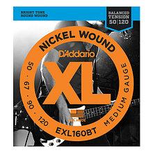Струны для 4-струнной бас-гитары D'addario EXL160BT