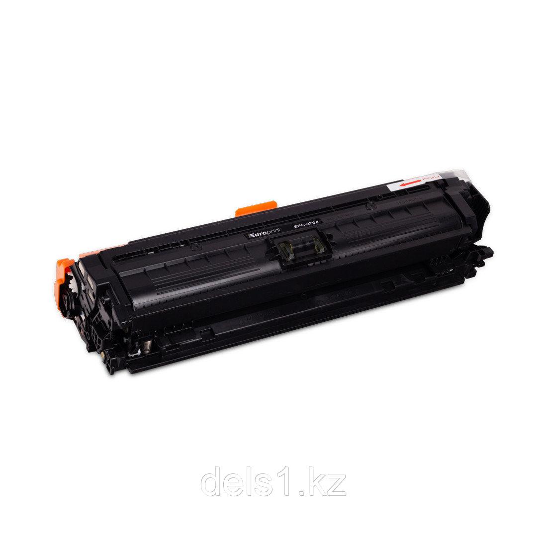 Картридж, Europrint, EPC-270A, Чёрный, Для принтеров HP Color LaserJet Enterprise CP5520/5525, 13500 страниц,