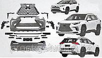 Аэродинамический обвес на Toyota RAV4 2019- дизайн Lexus