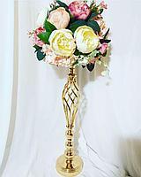 Стойка с цветами на стол (оформление мероприятий)