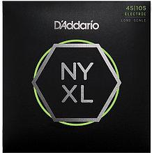 Комплект струн для 4-струнной бас-гитары, 45-105, D'Addario NYXL45105