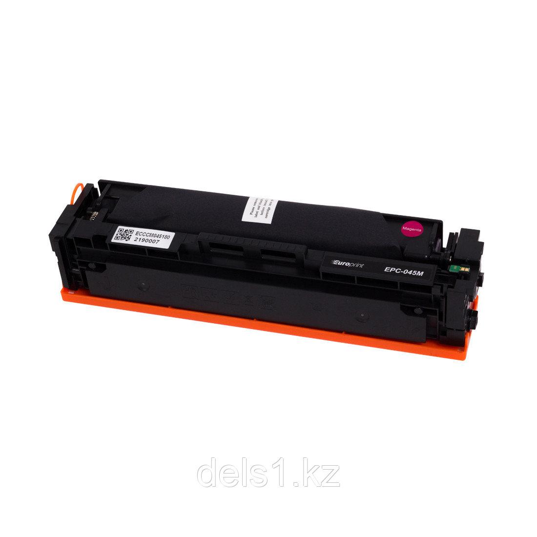 Картридж Europrint EPC-045M, Пурпурный, Для принтеров Canon Color imageCLASS MF634/MF632/LBP612