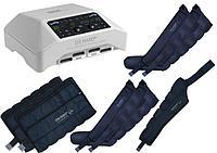 Аппарат для прессотерапии (лимфодренажа) Mark 300, 4 манжеты для ног, 2 пояса для похудения и манжета на руку