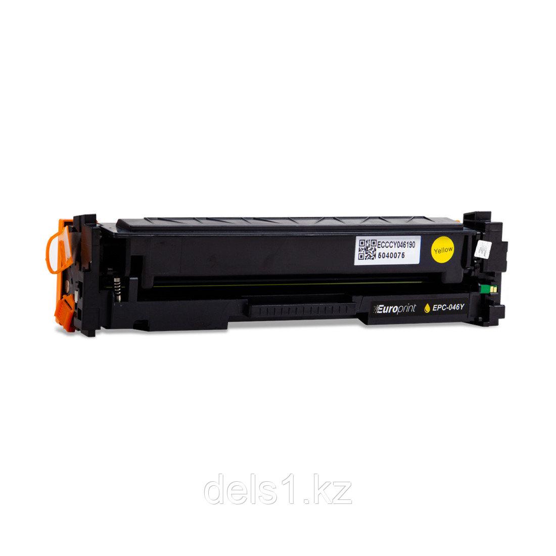 Картридж Europrint EPC-046Y, Жёлтый, Для принтеров Canon Color imageCLASS LBP654/MF735Cdw/MF731Cdw