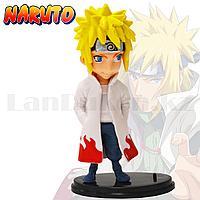 Игровая фигурка Наруто с подставкой 10 см персонаж Минато