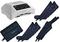 Аппарат для прессотерапии (лимфодренажа) Mark 300, 4 манжеты для ног, пояс для похудения и 2 манжеты для рук
